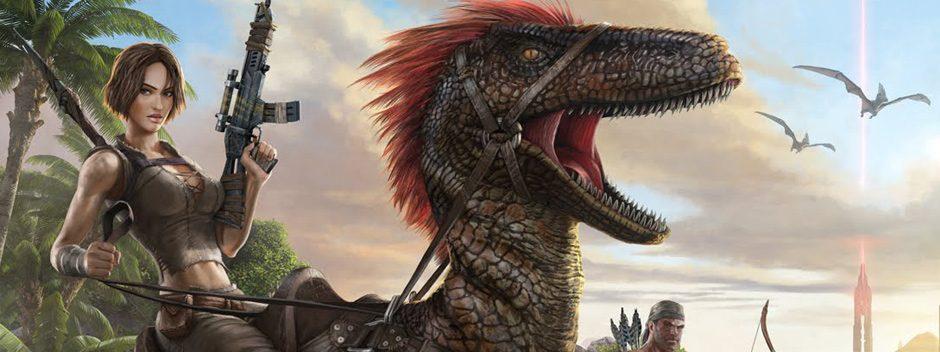 Vive en una tierra infestada de dinosaurios con el 'open-world' Ark: Survival Evolved – Ya disponible en PS4