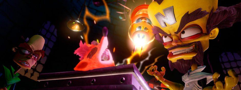 Crash Bandicoot N. Sane Trilogy revisa los clásicos de PS one y los reúne en un pack remasterizados para PS4