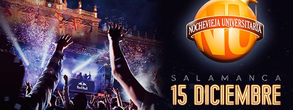 Te invitamos a la Nochevieja universitaria de Salamanca con PS Plus y RedBull