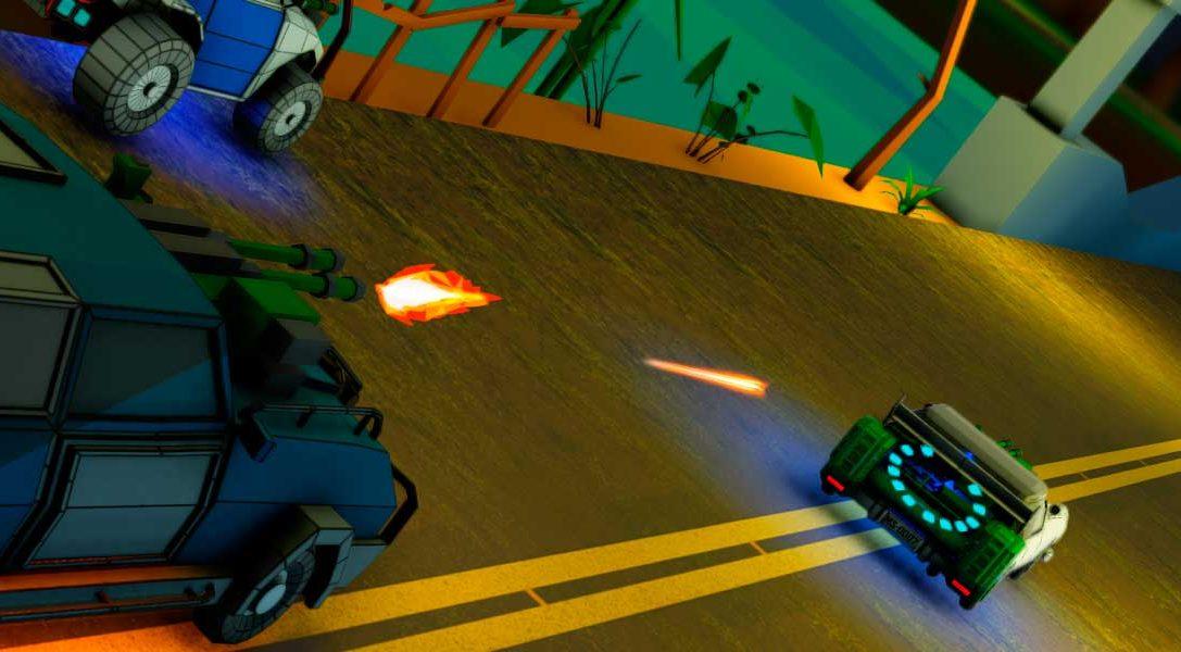 Disfruta de las locas carreras de Motor Strike: Immortal Legends para PS4