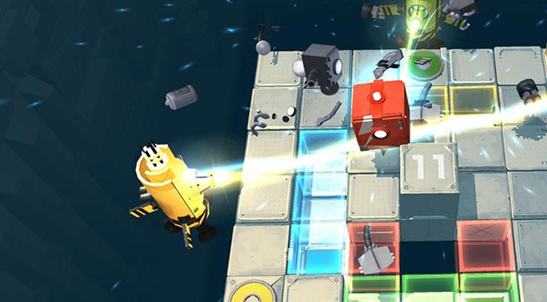 Death Squared, un juego cooperativo que pondrá a prueba vuestras relaciones, llegará a PS4 a comienzos de 2017