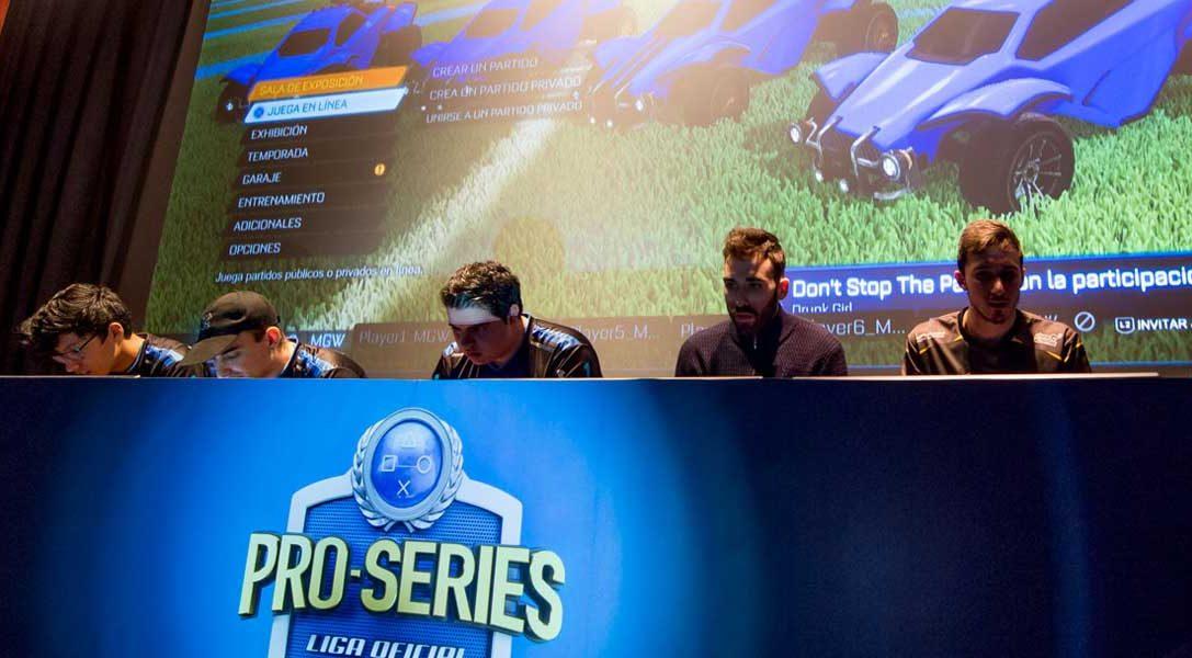 Mucha emoción en la final de la primera edición de las Pro Series de la Liga Oficial PlayStation