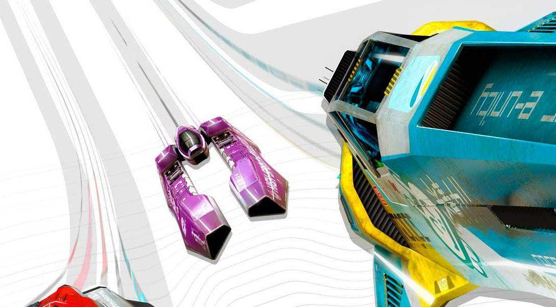 WipEout Omega Collection anunciado para PS4 en PSX