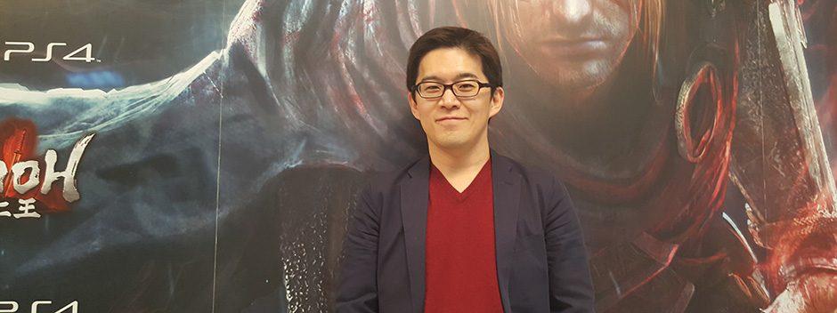 Entrevistamos a Yosuke Hayashi en la presentación de Nioh