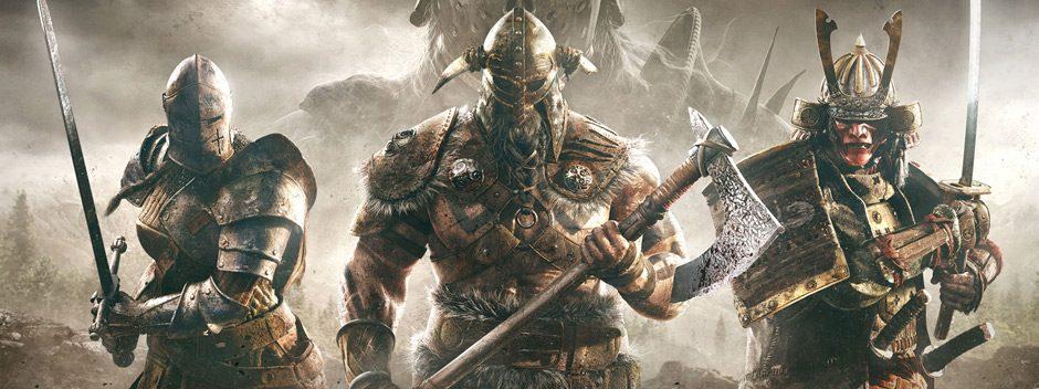 El brutal nuevo tráiler de For Honor muestra a los enmascarados Nobushi armados con su lanza