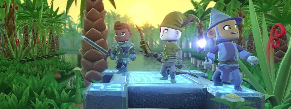El RPG de acción no lineal Portal Knights llega a PlayStation 4