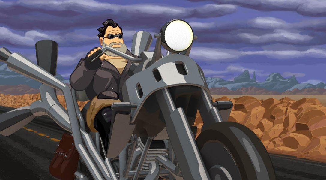 Double Fine está poniendo a punto Full Throttle Remastered para PS4