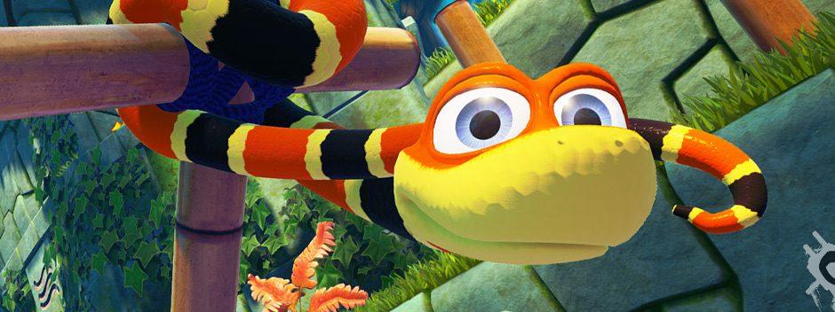 Snake Pass se desliza hacia PS4 y PS4 Pro y llegará el 29 de marzo