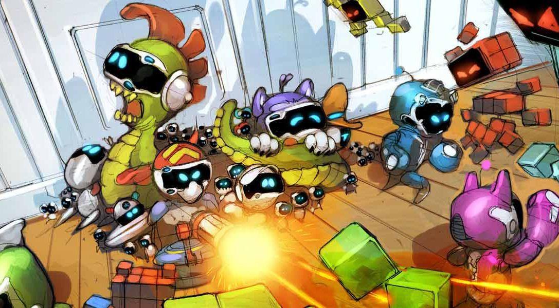 El nuevo juego La Guerra de los Juguetes se incorpora hoy a The Playroom VR, y gratis