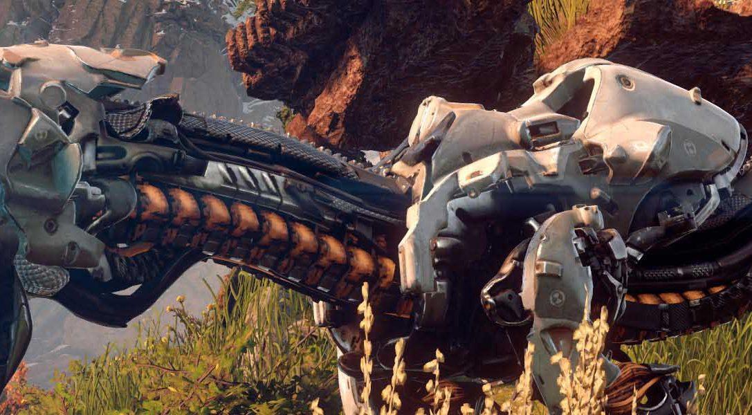 La creación de las máquinas de Horizon Zero Dawn, según Guerrilla Games