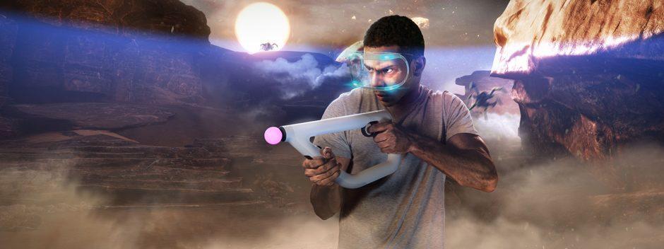 El shooter de ciencia ficción Farpoint llega a PS VR el 17 de mayo, con el nuevo mando pistola Aim controller