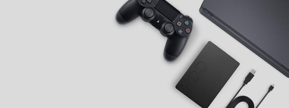 Cómo descargar y almacenar juegos y aplicaciones de PS4 en un disco duro externo