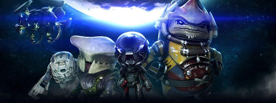 El Pack de trajes de Mass Effect: Andromeda disponible hoy en LittleBigPlanet 3