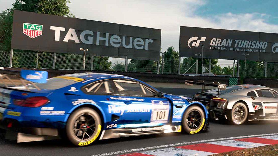 Anunciado el acuerdo entre Gran Turismo Sport y TAG Heuer
