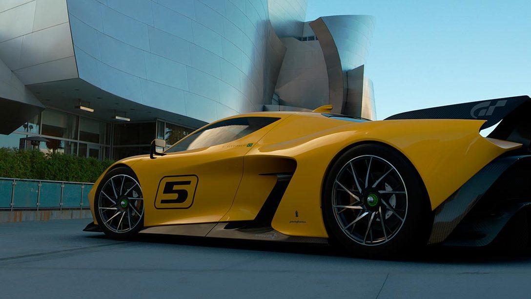 Desvelado el nuevo Fittipaldi  EF7 Vision Gran Turismo by Pininfarina