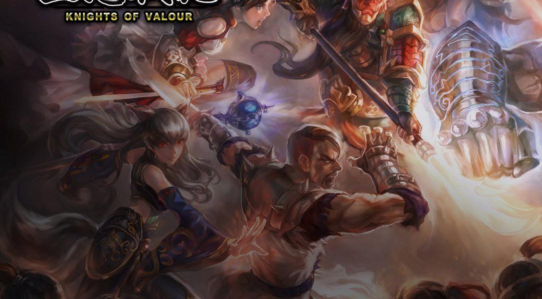 6 cosas que debes saber sobre Knights of Valour, un juego de peleas cooperativo al estilo de las máquinas recreativas, que llegará próximamente a PS4