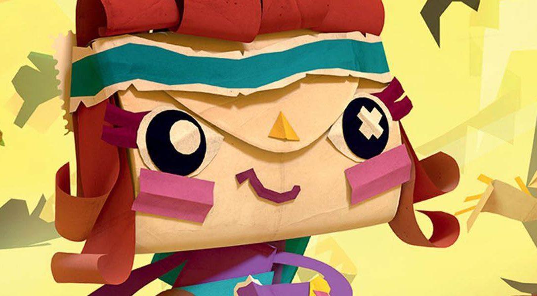 Tearaway Unfolded 3 y Disc Jam son los juegos de PlayStation Plus de marzo
