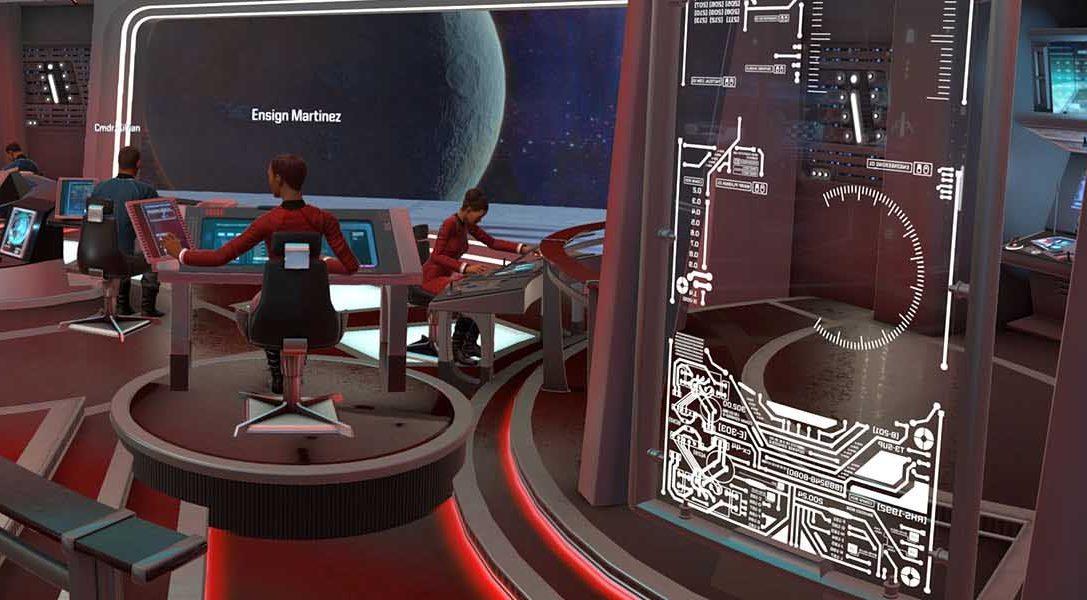 Capturando la autenticidad de la última frontera en Star Trek: Bridge Crew para PS VR