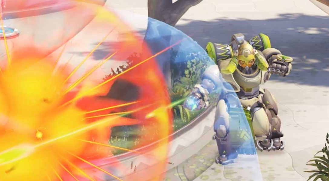 Nuevo personaje de Overwatch – Orisa, la robot guardiana