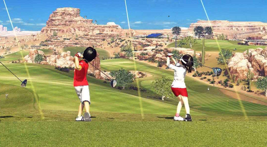 Everybody's Golf dará su primer golpe en PlayStation 4 el 30 de agosto