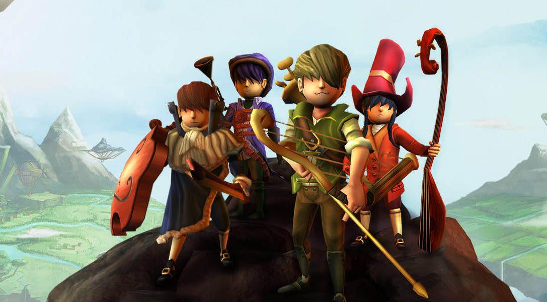 El RPG de acción AereA, de temática musical, llegará a PS4 este junio