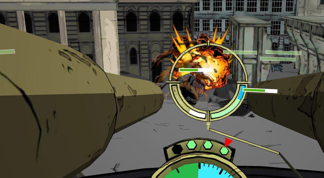 Pilota un bombardero de la segunda guerra mundial en Bandit Six: Combined Arms para PlayStation VR, que se lanza hoy