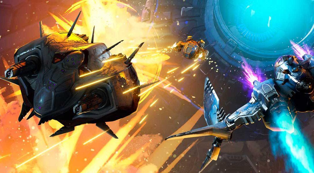 El shooter de combate espacial Starblood Arena para PlayStation VR llega mañana