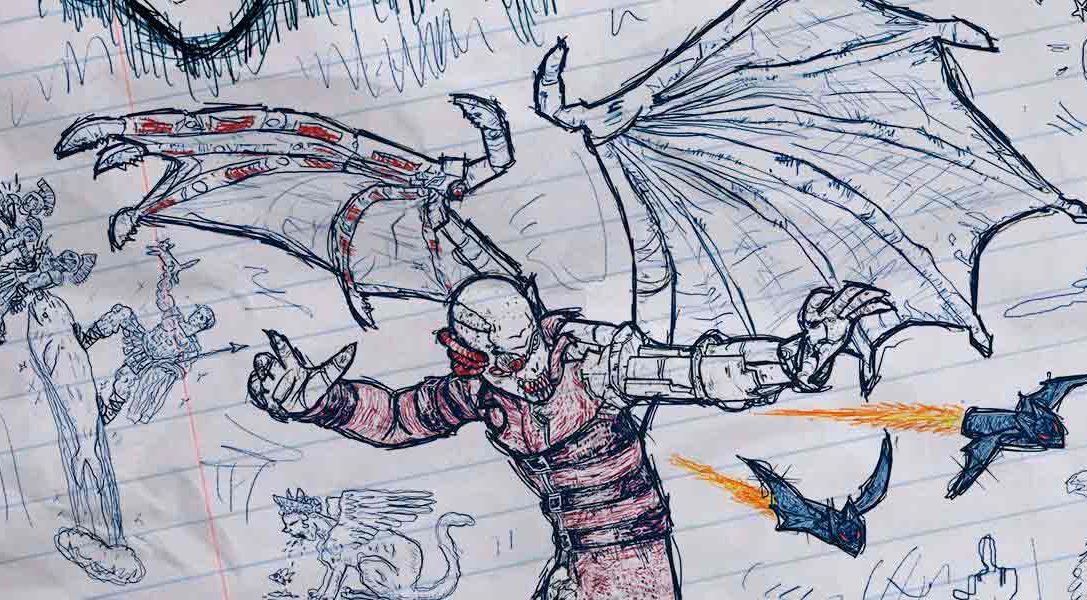 Conoce a los personajes de Drawn to Death