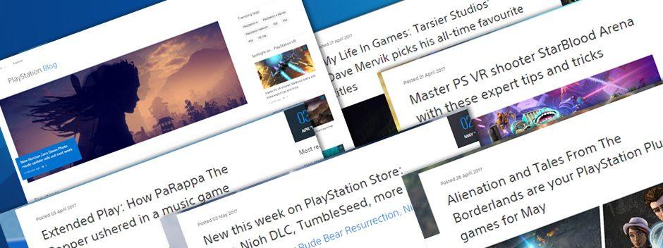 Bienvenidos al nuevo diseño de PlayStation.Blog