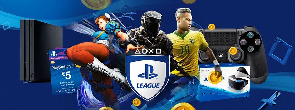 Aún más oro y más premios te esperan en PlayStation League
