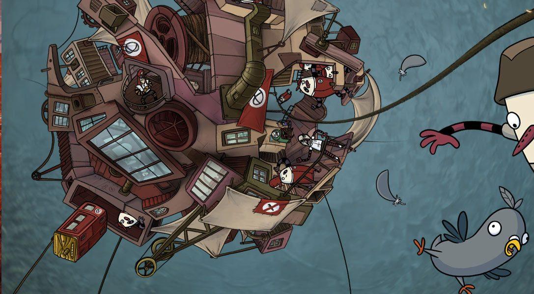 La historia de cómo una paloma común se llevó el protagonismo en la aventura de PS4 The Inner World