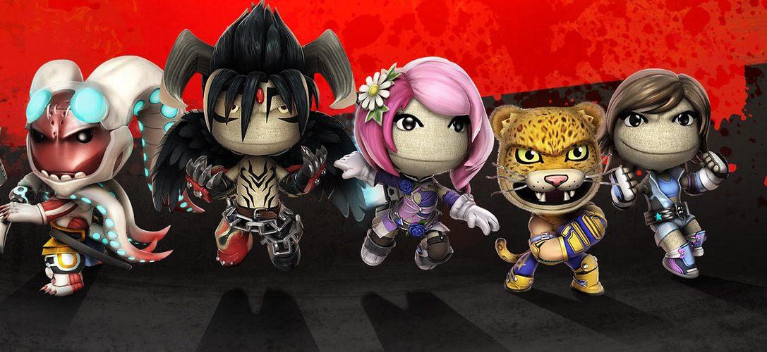 Celebra el lanzamiento de Tekken 7 con este pack de trajes para LittleBigPlanet 3