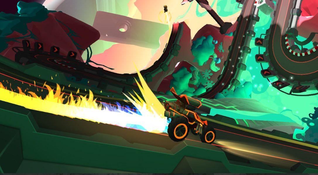 El creador de Velocity 2X regresa con Tiny Trax, un título para PS VR