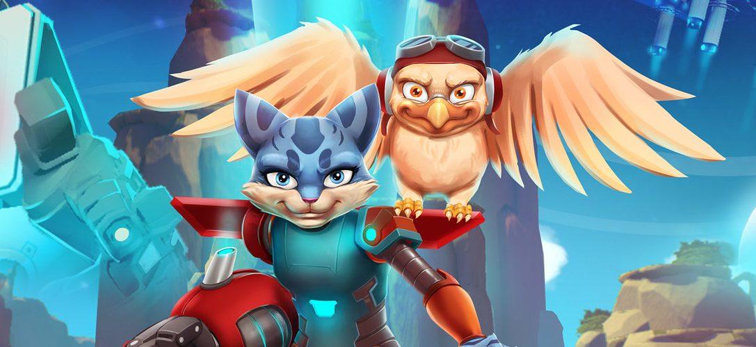 Skylar & Plux: Adventure on Clover Island, disponible hoy para PS4, recupera la acción clásica de plataformas