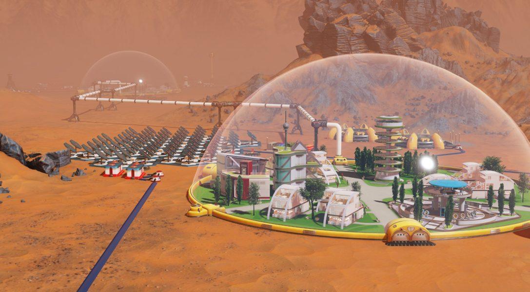 Ocúpate de la gestión de una colonia interplanetaria en Surviving Mars, para PS4