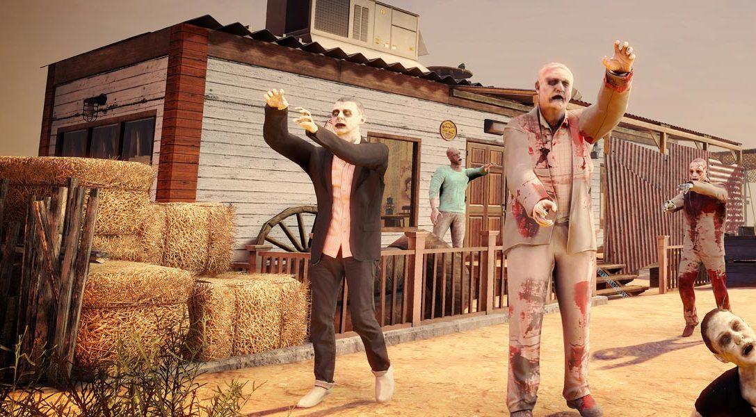 Sobrevive al apocalipsis zombi en Arizona Sunshine para PS VR, a la venta en junio