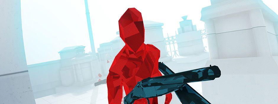 E3 2017 | Superhot y Superhot VR llegarán a PS4 y PS VR en unas semanas