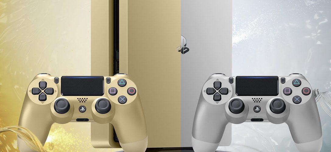 Los nuevos modelos de edición limitada PS4 Gold y PS4 Silver se unen a la familia PlayStation este mes