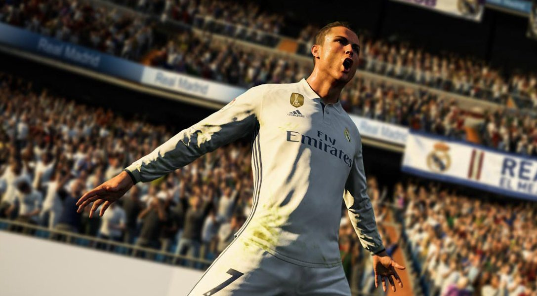 Se anuncia FIFA 18, protagonizado por Cristiano Ronaldo