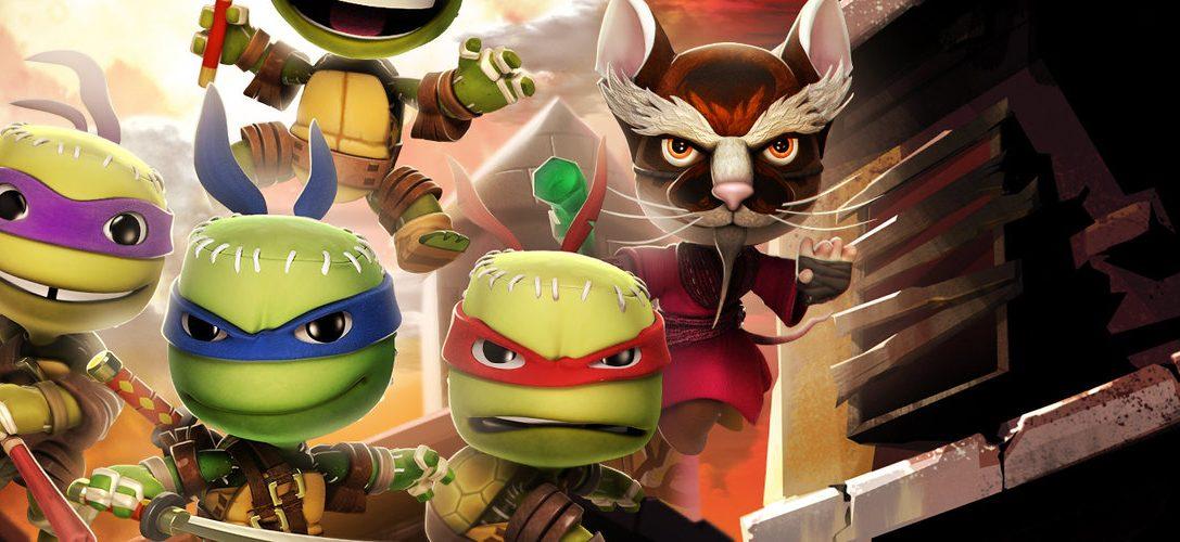 LittleBigPlanet 3: pack de trajes de villanos de Las Tortugas Ninja llega esta semana