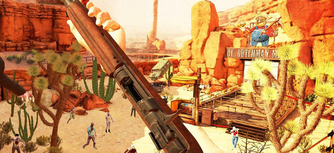 El shooter de zombis PS VR Arizona Sunshine llega mañana con un 10 % de descuento para miembros de PS Plus