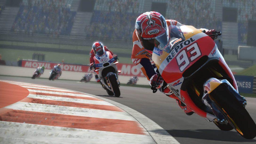 Vive toda la emoción de las carreras con MotoGP 17, ya disponible para PS4