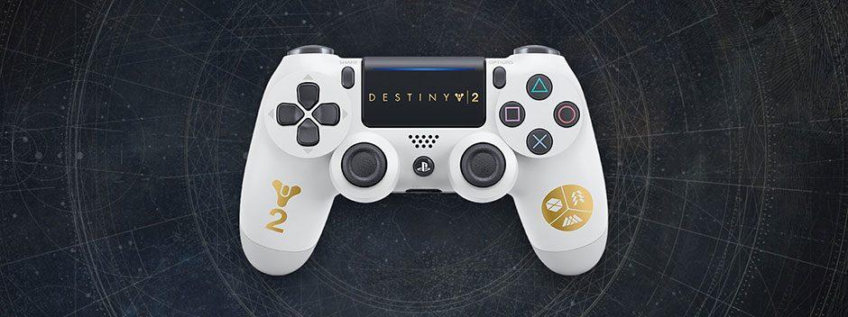 Anunciados mando DUALSHOCK 4 edición limitada de Destiny 2 y nuevos packs de PS4