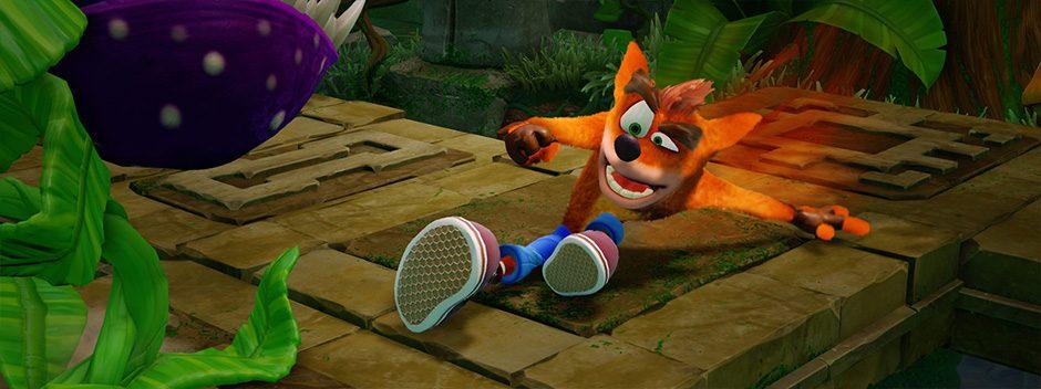 Crash Bandicoot N. Sane Trilogy fue el juego más vendido de junio en PlayStation Store