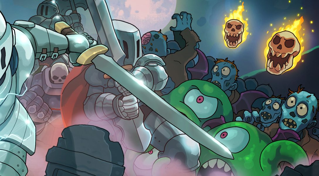 Ponte tu armadura de caballero y toma las armas en el juego de disparos arcade con doble joystick Iron Crypticle