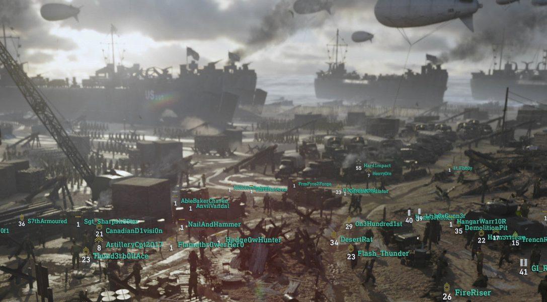 Las cinco Divisiones de Call of Duty WWII detalladas de cara a la beta del próximo mes