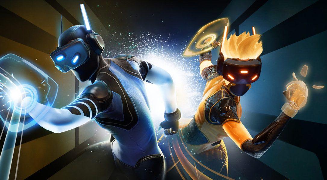 Lanzamos el deporte virtual rápido e innovador Sparc en PS VR el 29 de agosto
