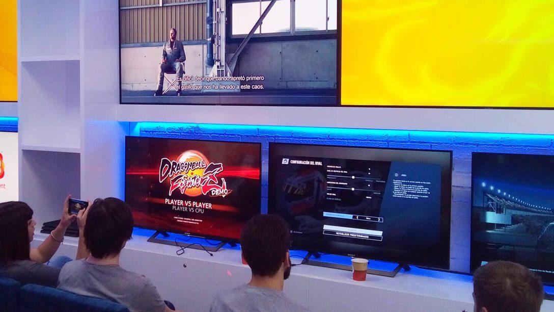Probamos las próximas novedades de Bandai Namco
