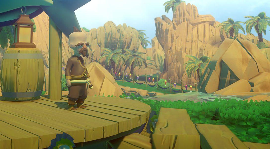 Por qué Prideful Sloth abandonó la vida de los estudios AAA para crear el juego de PS4 Yonder: The Cloud Catcher Chronicles