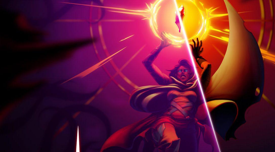 Lucha por tu supervivencia en las mazmorras generadas aleatoriamente de Sundered para PS4, a la venta el 28 de julio
